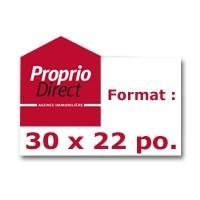 Format: 30 x 22 po